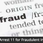 Fraudulent personal injury claims