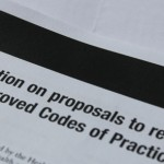 An image of a letter head referring the the Approved Codes of practice (ACOPS)