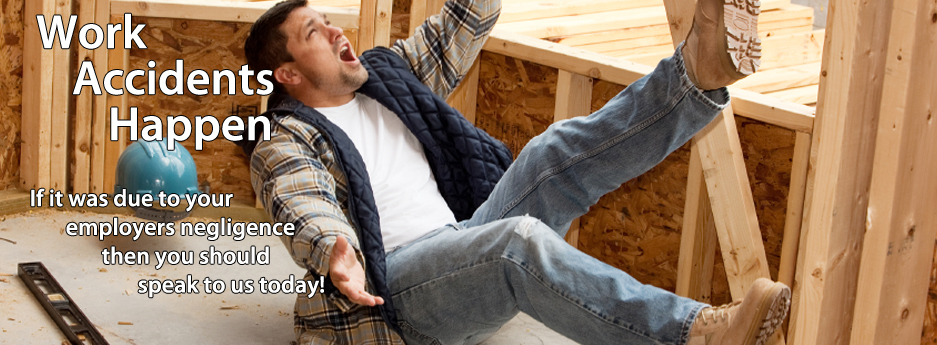 Accidents At Work Claim Solicitors