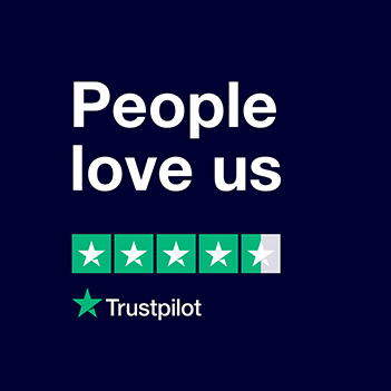 People Love Us - Click Here To See Our Reviews On TrustPilot!